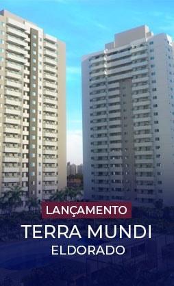 Terra Mundi Eldorado em Goiânia - Apartamentos 2 e 3 Quartos
