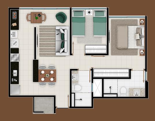 Apartamentos Terra Mundi Goiânia - Jaridm América