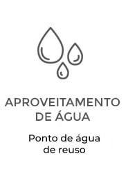 Apartamentos Terra Mundi Goiânia - Aproveitamento de Água - Ponto de água de reuso