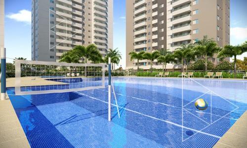 Terra Mundi Eldorado - Apartamentos de 2 e 3 quartos em Goiânia - Piscina