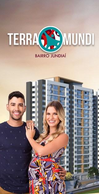Apartamento Terra Mundi Bairro Jundiaí - Construtora Newinc