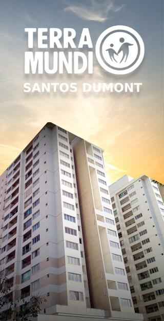 Apartamento Terra Mundi Santos Dumont - Construtora Newinc